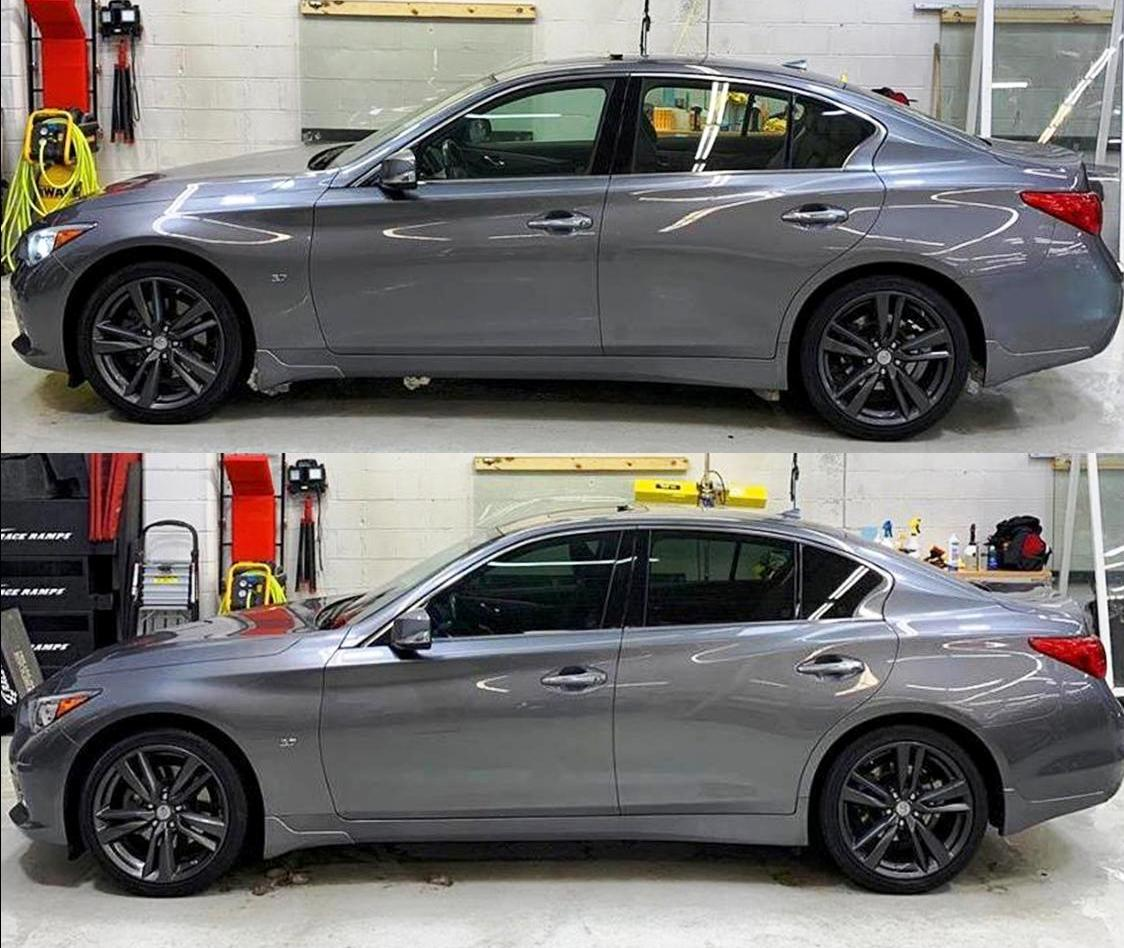Car Window Tinting Before and After