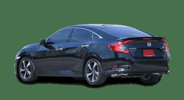 Honda with Tinted Windows